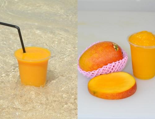 マンゴー100%「飲むマンゴー!!」9月20日より店頭販売開始!
